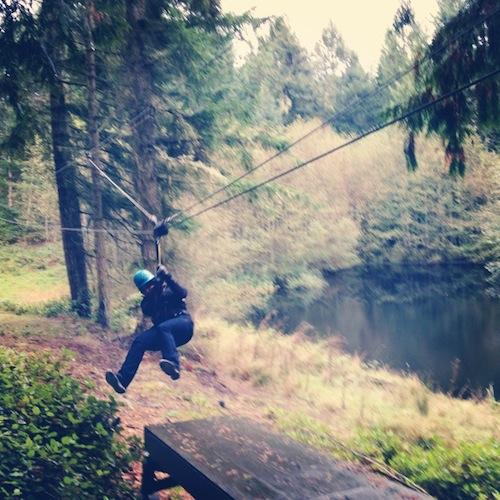 BrandQuery Goes Ziplining
